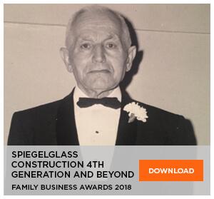 Spiegelglass Construction - Family Business Award