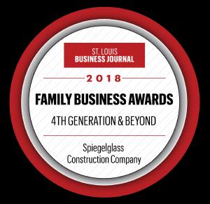 Family Business Award 2018 - Spiegelglass Construction
